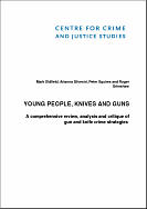 Young People, knives and guns